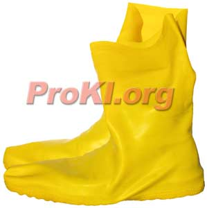 Hazmaster latex rubber chemical bootcover