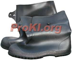 Deluxe general use PVC chemical bootcover