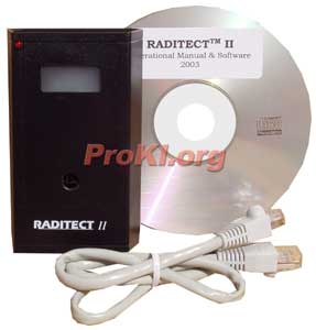 Raditect 2  portable passive radiation detector