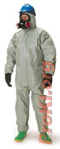 Chemical protective suit - Type F NBC suit
